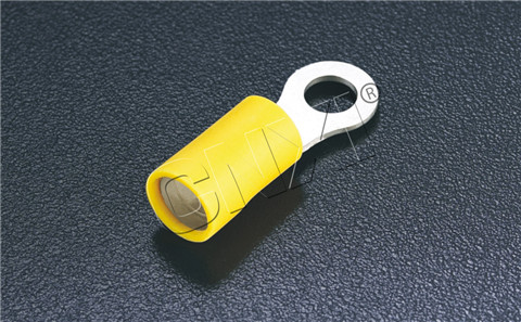 Double crimping type circular pre-insulated end HRD series (